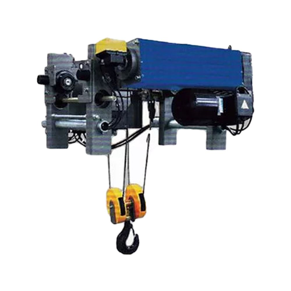 European Type Monorail Electric Wire Rope Hoist C/W Dual Speed