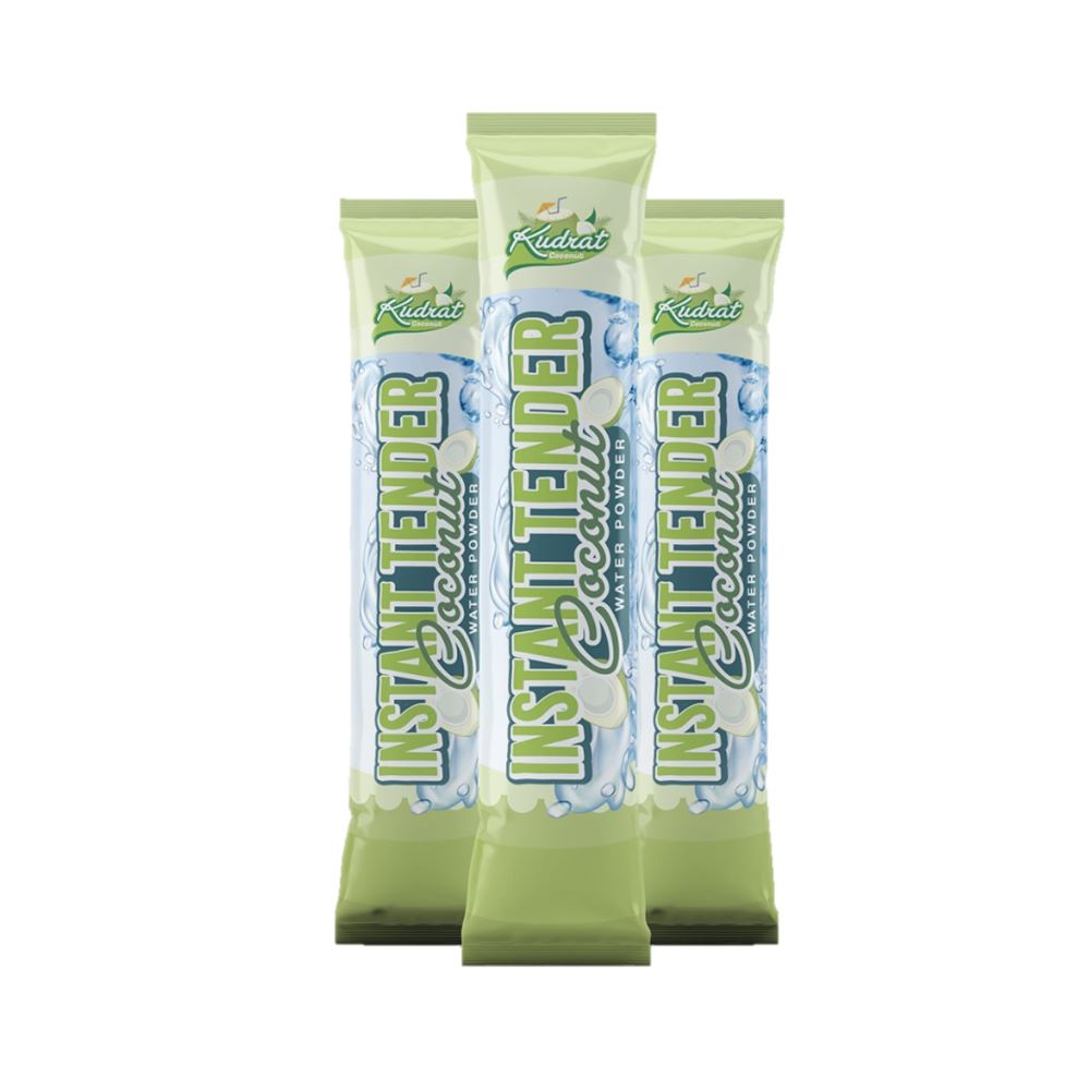 Instant Coconut Water Powder ( 1 Pouch = 6 Sachets ) | Coconut beverage manufacturer in Malaysia