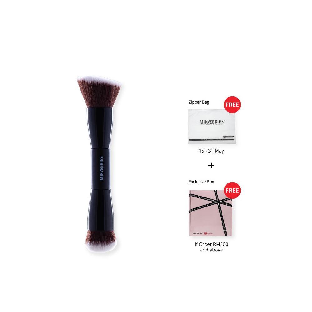 Mikabrush Duo Powder & Foundation Brush