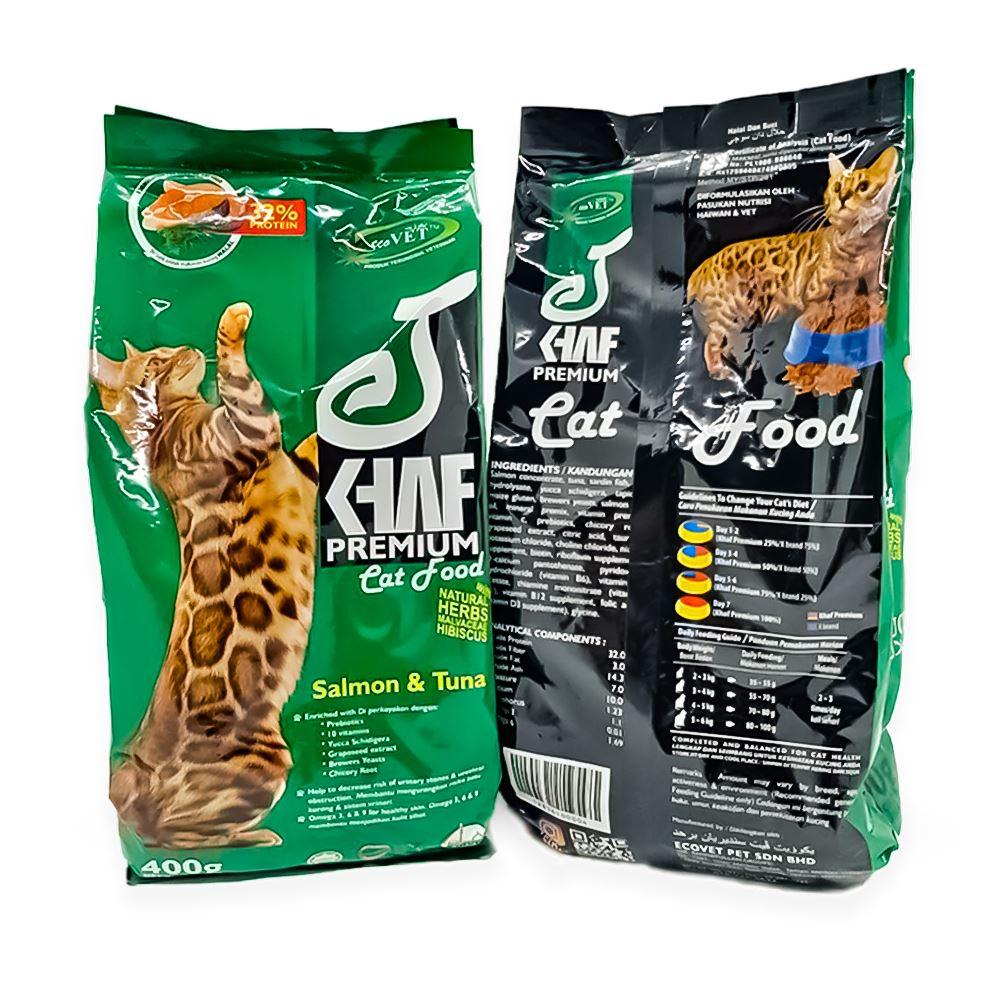 Khaf Premium Cat Food 400g
