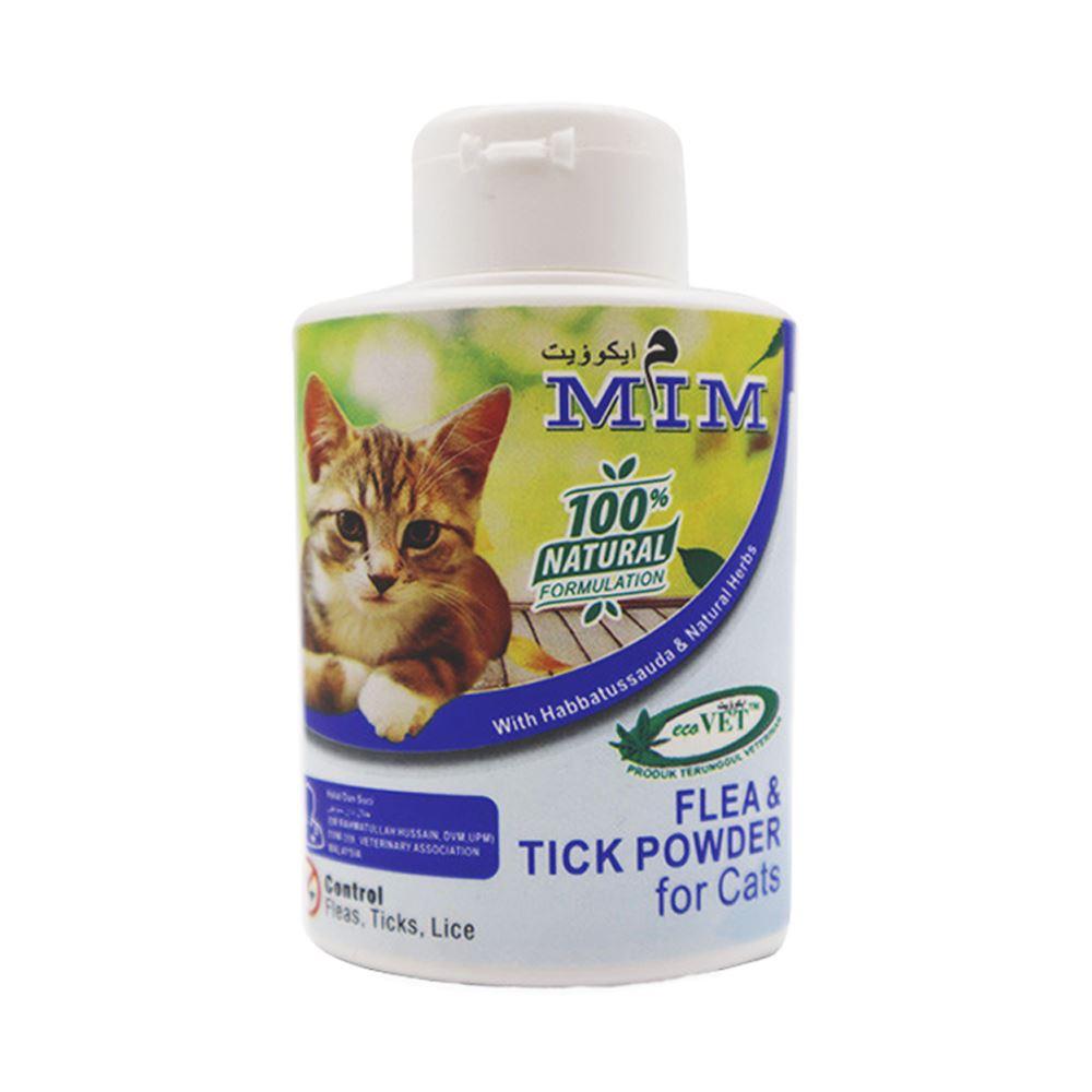 Mim Flea & Tick Powder For Cats