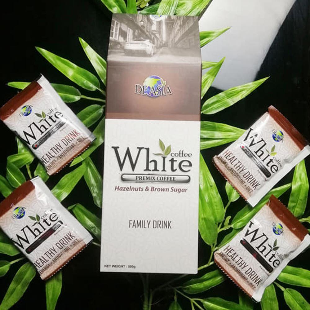 White Coffee Hazelnut & Brown Sugar