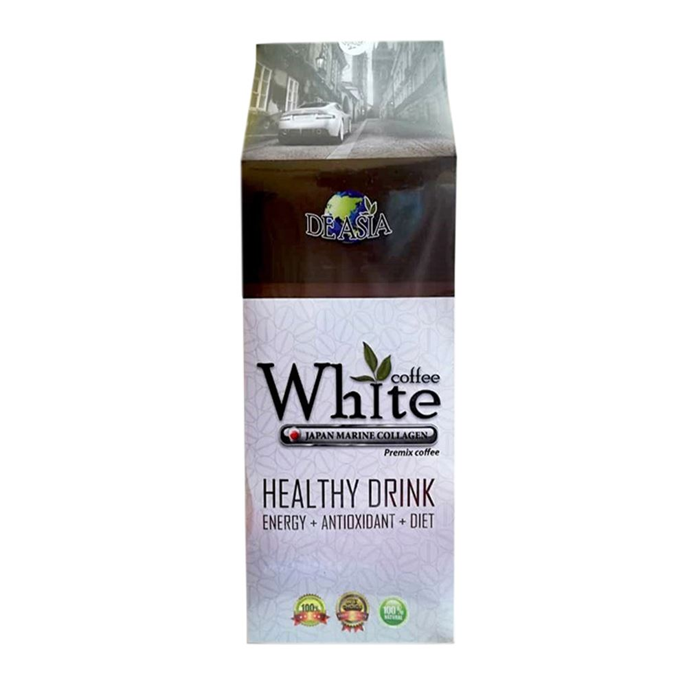 White Coffee Hazelnut & Brown Sugar