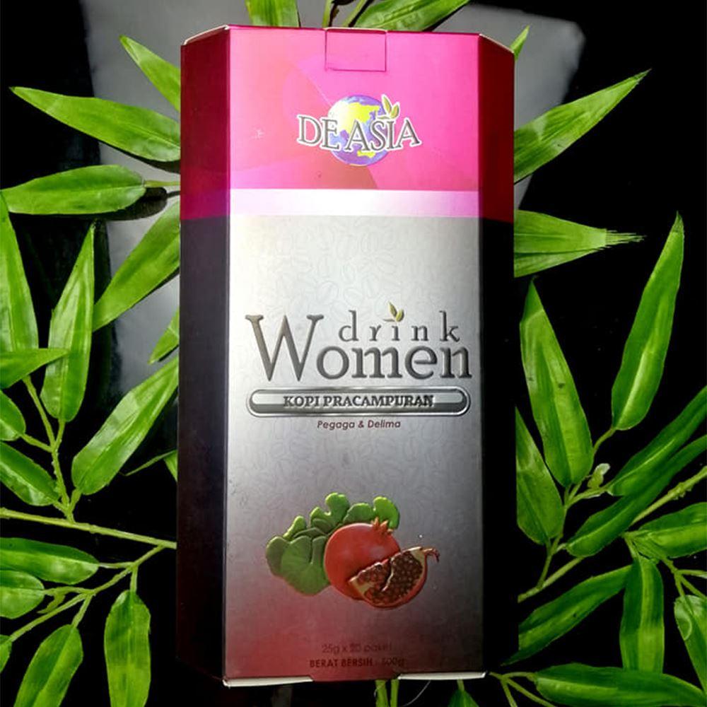 Women Drink Centella Asiatica & Pomegranate