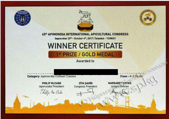 World Beekeeping Awards