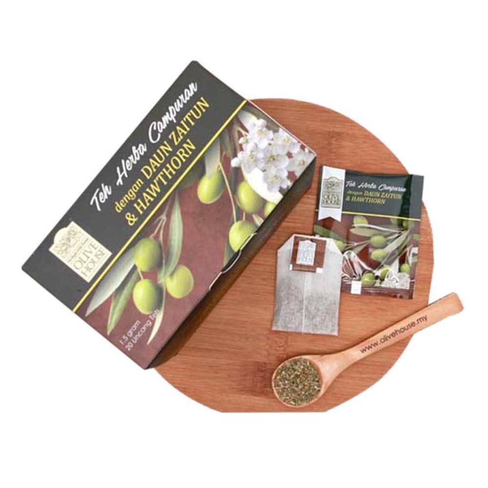 Botanical Beverage Mixed Olive leaf with Hawthorn