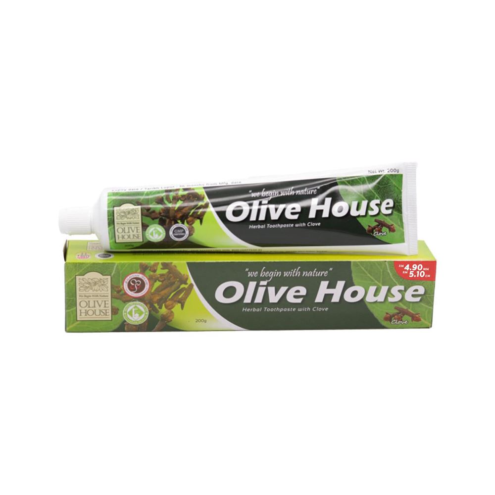 Olive House Herbal Toothpaste