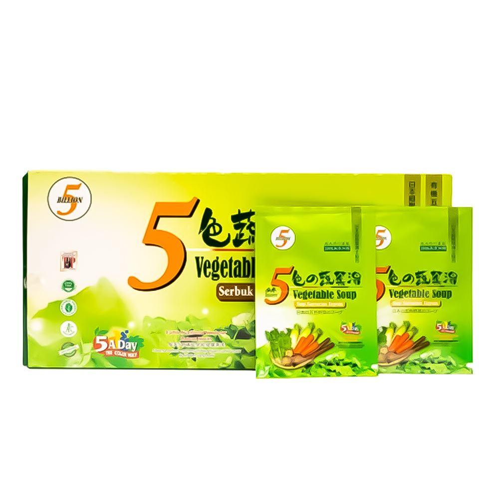 5 Vegetables Soup Powder Form