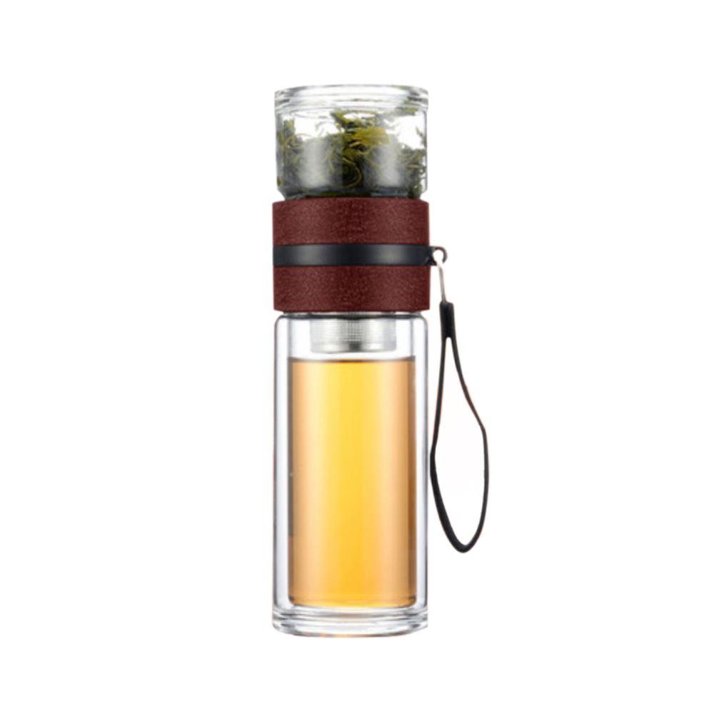 Two Tier Smart Separation Glass Bottle