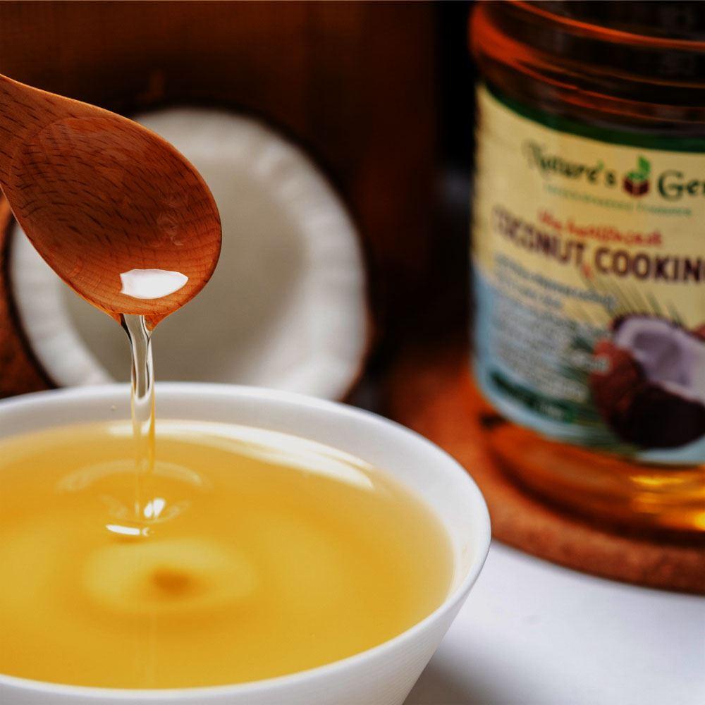 Nature's Gem Coconut Cooking oil