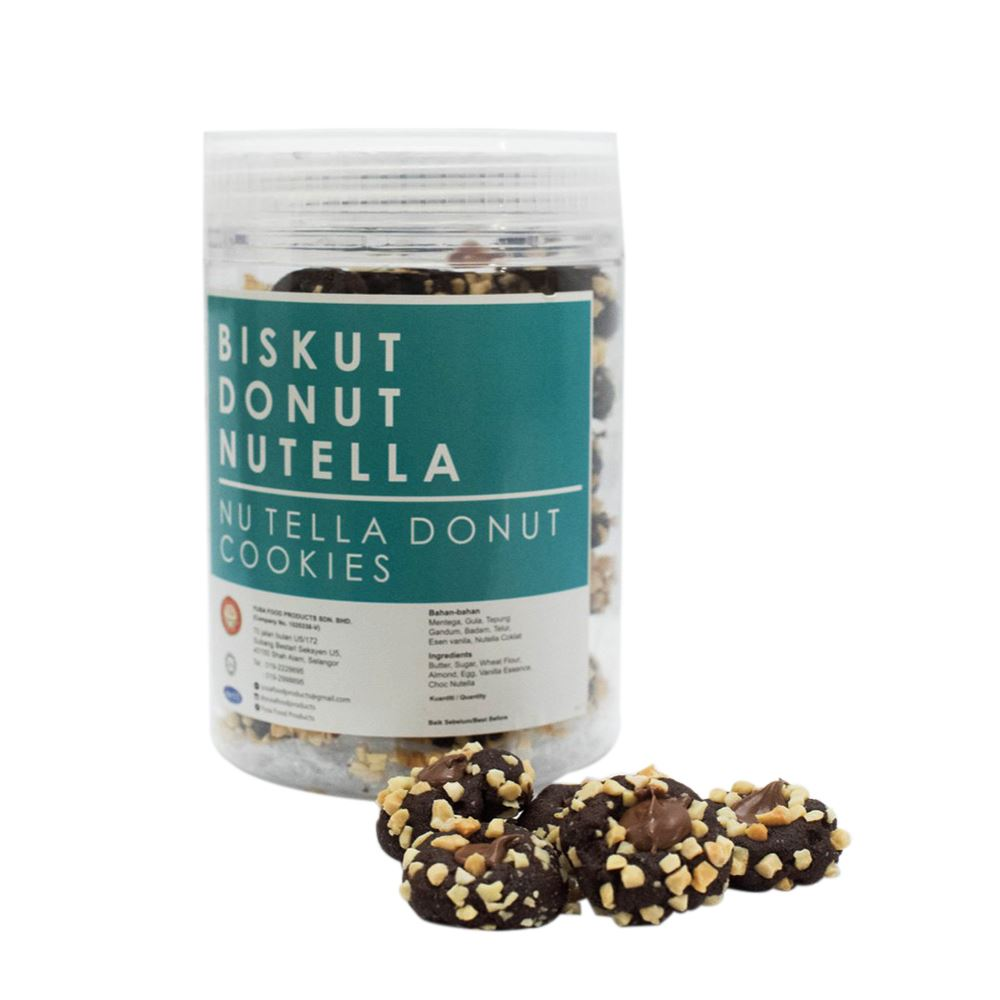 Nutella Donut Cookies