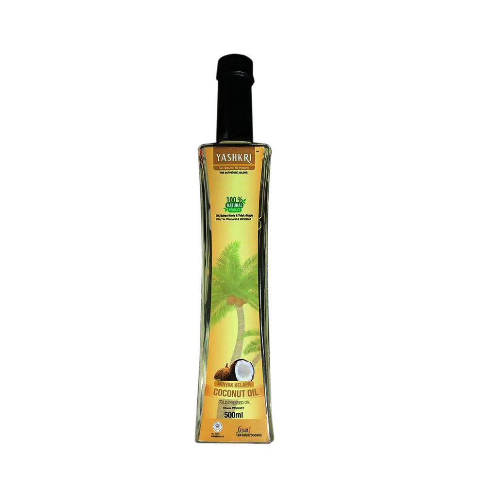 Virgin Coconut Oil 500ml (Glass Bottle)
