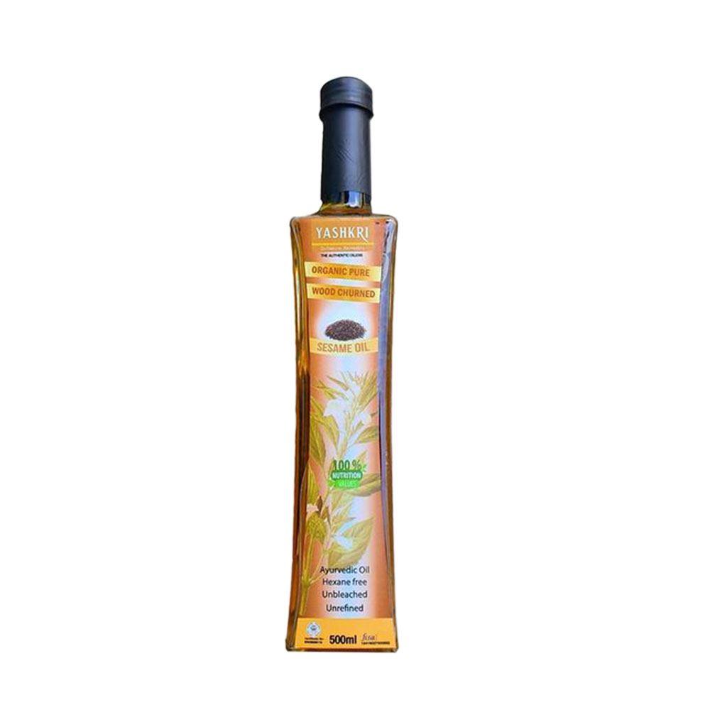 Virgin Gingelly / Sesame Oil 500ml (Glass Bottle)