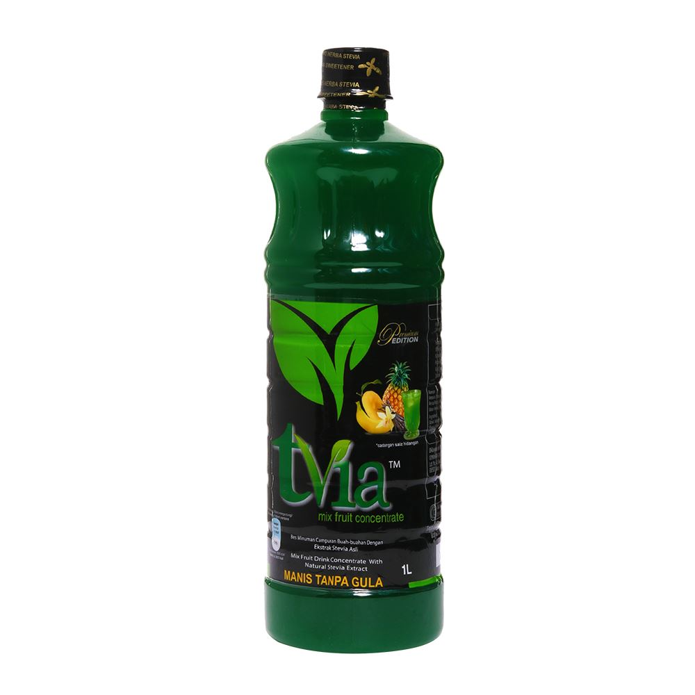 Mix Fruit Drink Concentrate With Natural Stevia Extract
