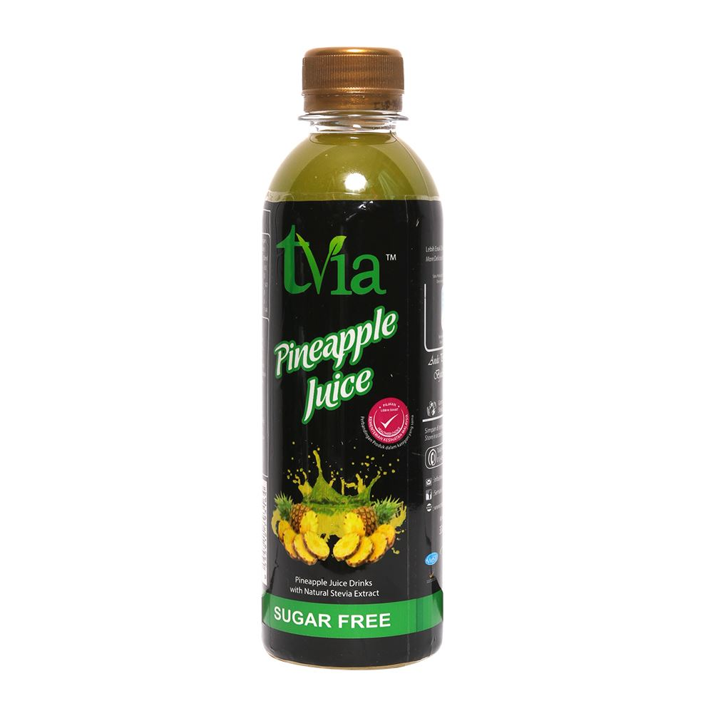 Pineapple Juice Drinks With Natural Stevia Extract (Free Sugar)