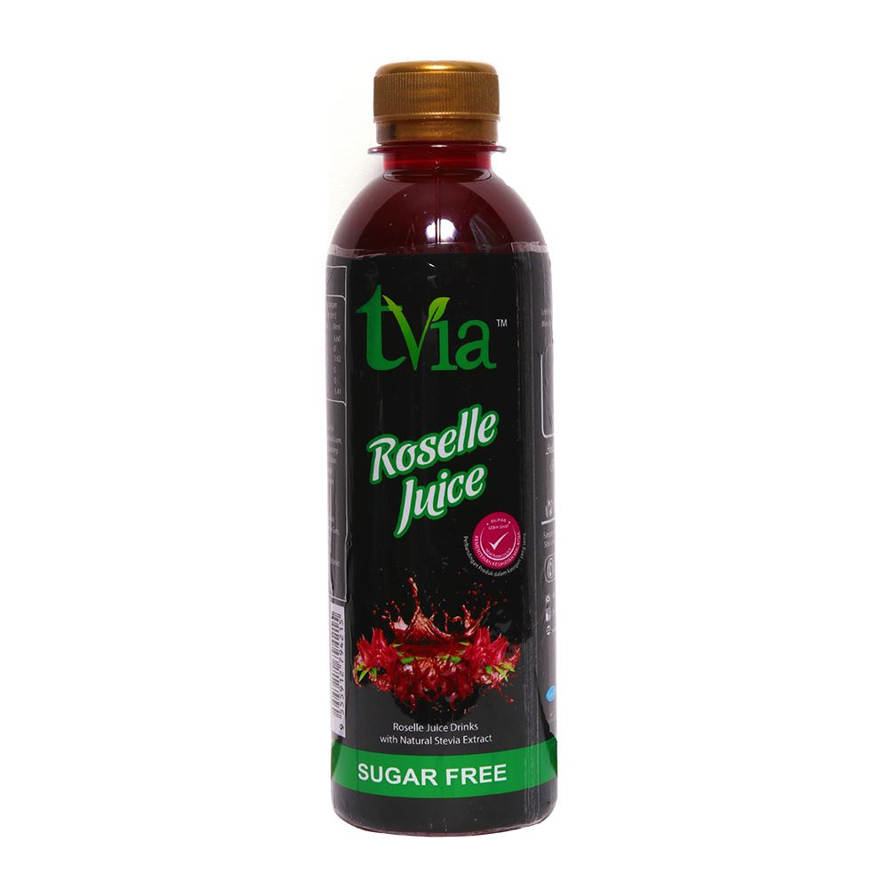 Roselle Juice Drinks With Natural Stevia Extract (Free Sugar)