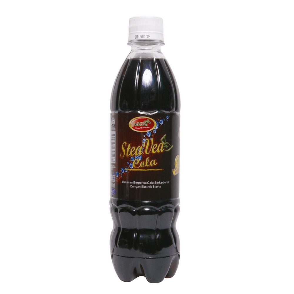 Carbonated Cola Flavored Drinks With Natural Stevia Extract (Free Sugar)