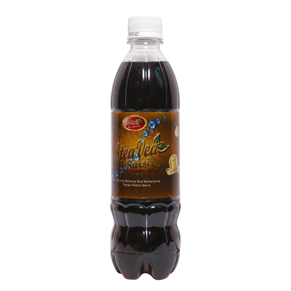 Carbonated Sarsi Flavored Drinks With Natural Stevia Extract (Free Sugar)