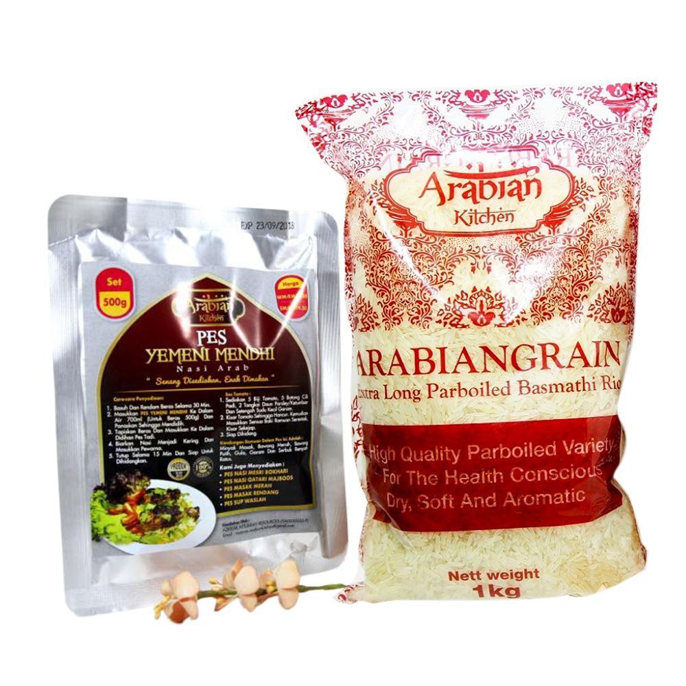 Pes Yemeni Mendhi (Rice + Soup Paste) 1.5kg