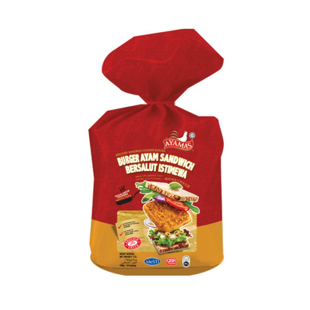 Breaded Sandwich Chicken Burger