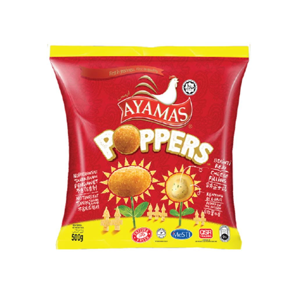 Chicken Poppers Cheese
