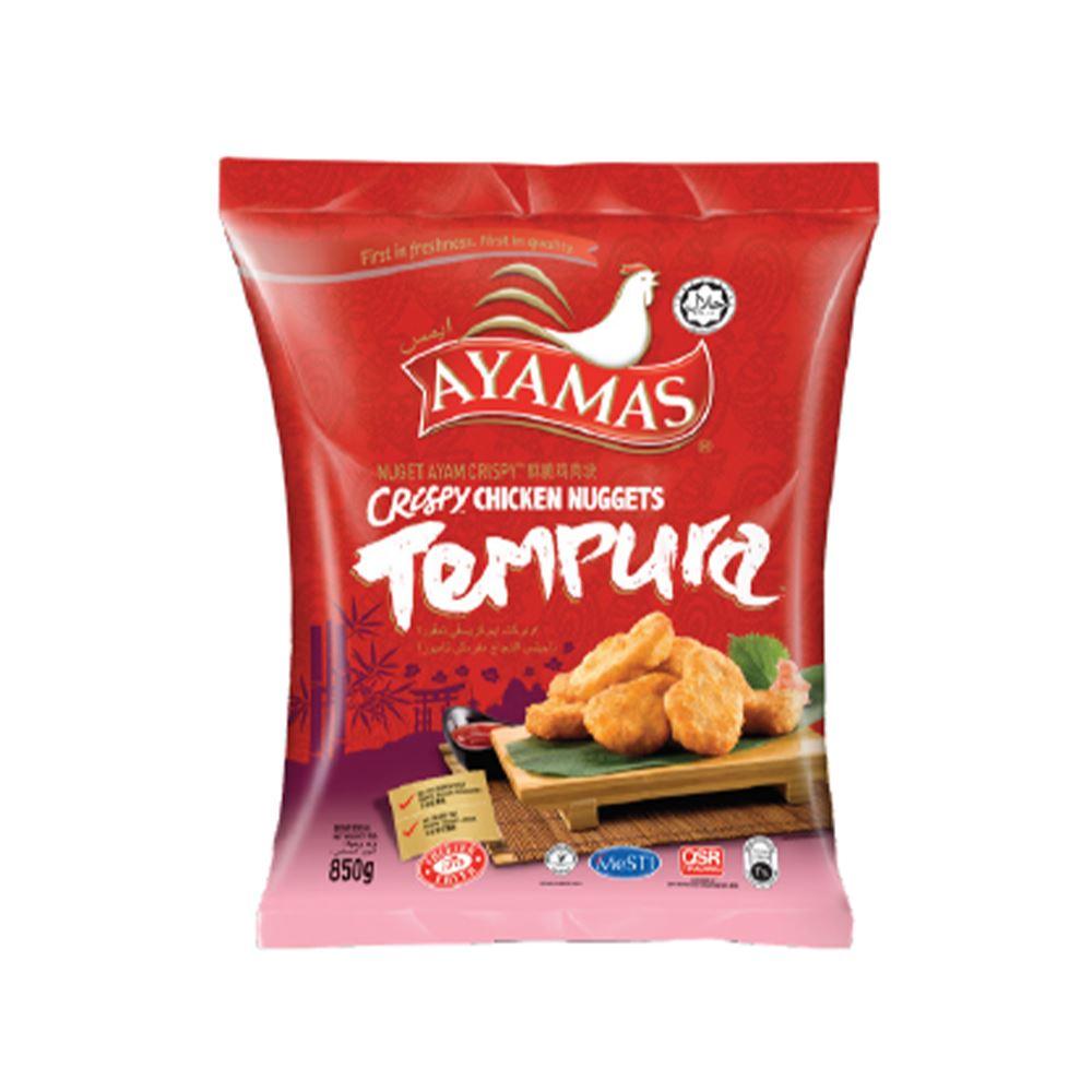 Crispy Chicken Tempura Nuggets