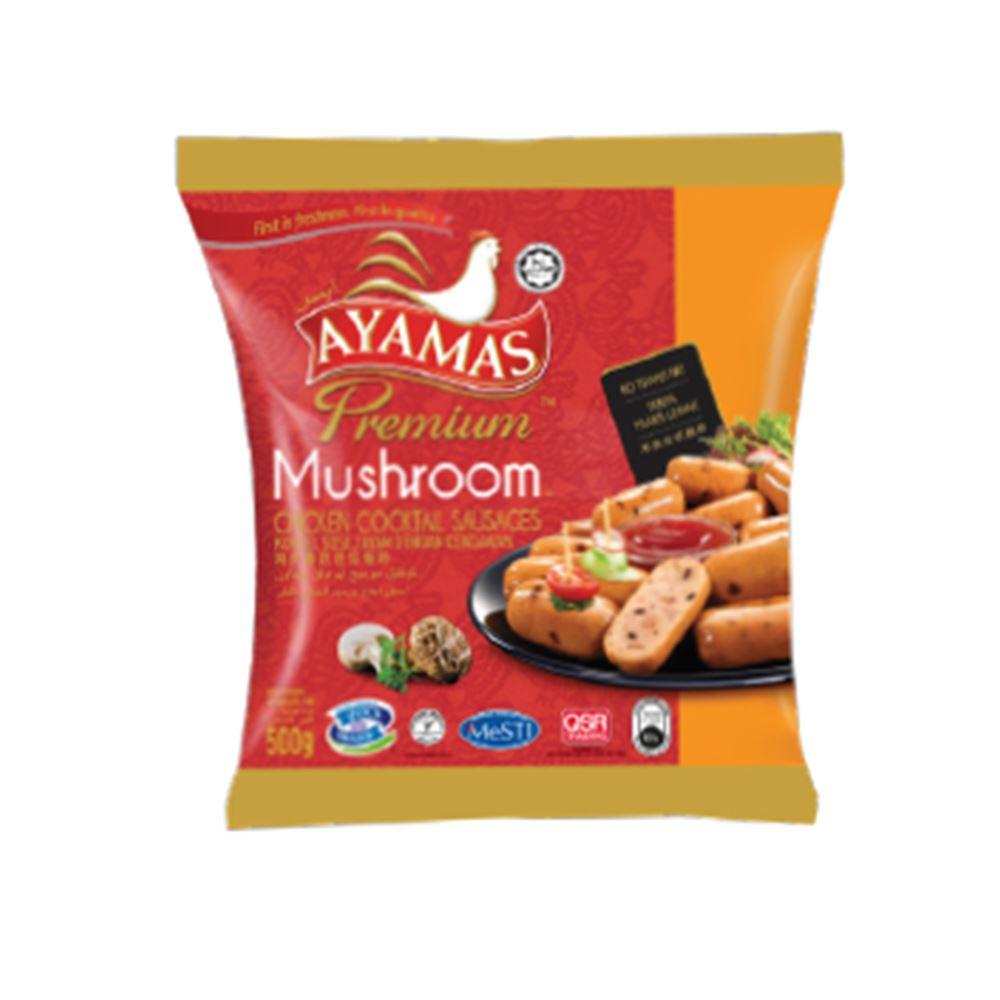Premium Mushroom Chicken Cocktail Sausages