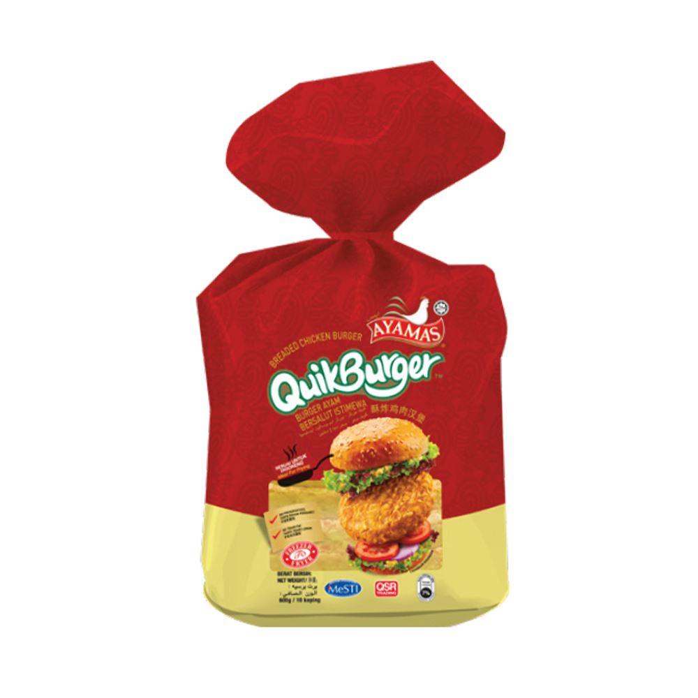 Breaded Chicken Burger QuikBurger