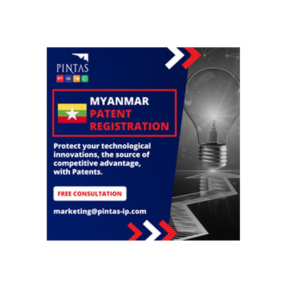 Myanmar Patent Registration