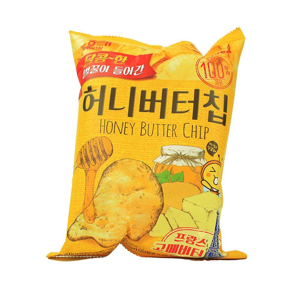 Haitai Honey Butter Potato Chips 60g