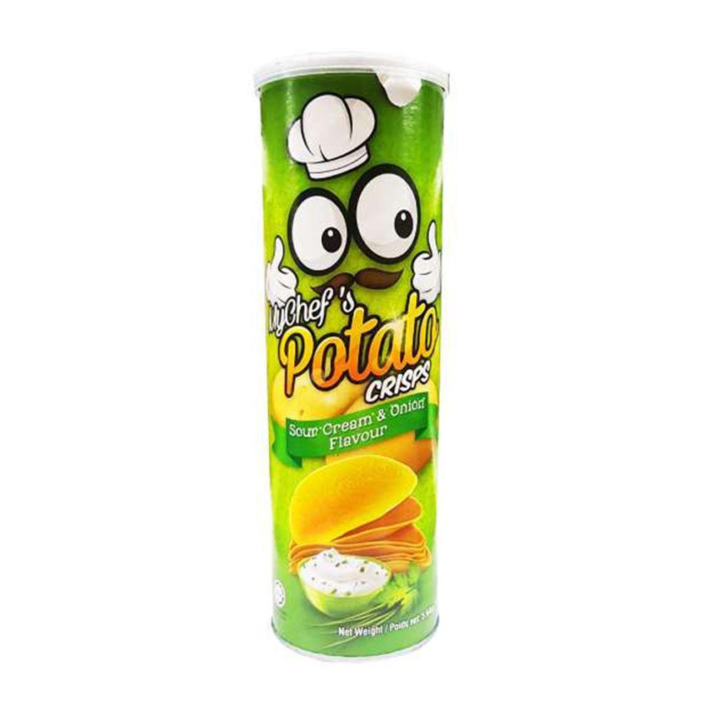 Potato Crisps – Sour Cream & Onion