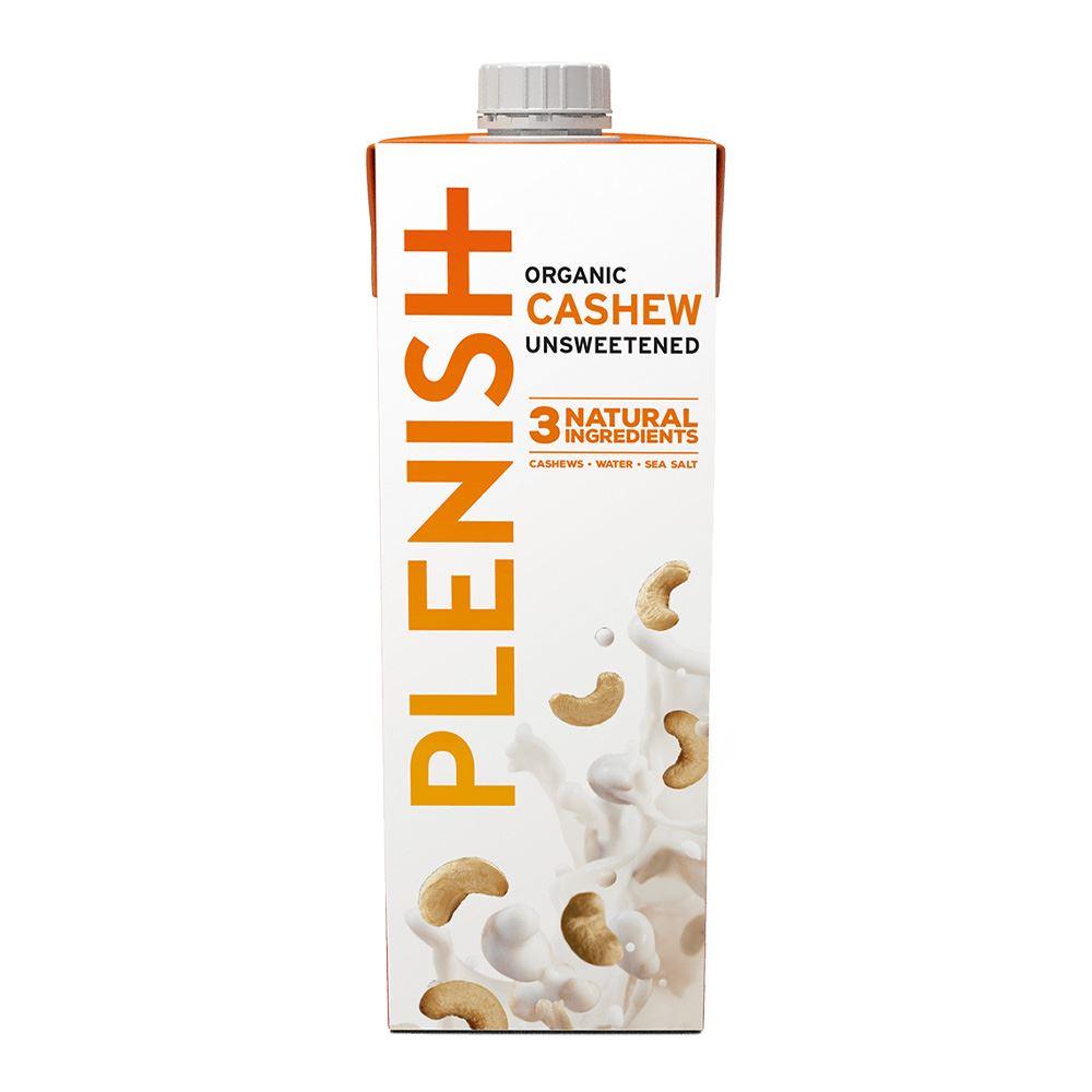 Plenish Organic Cashew Unsweetened 1L