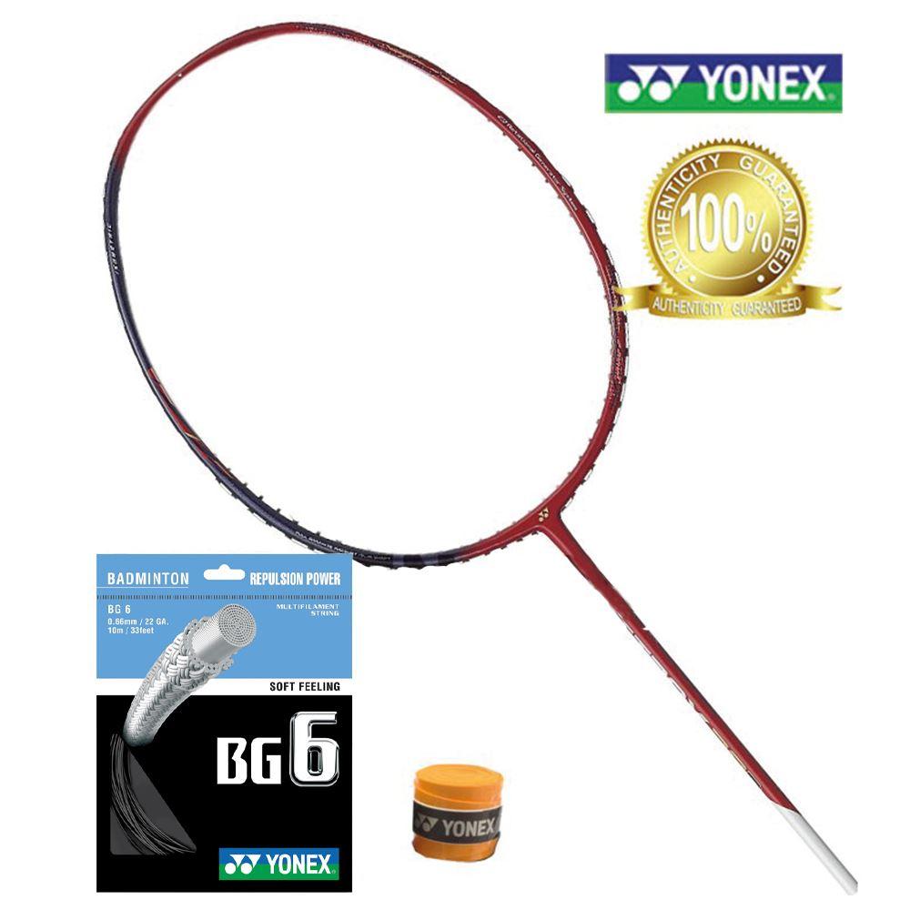 Yonex Astrox 38D / 38S Badminton Racket Frame (C/W Yonex BG6 String & Ac102 Overgrip)