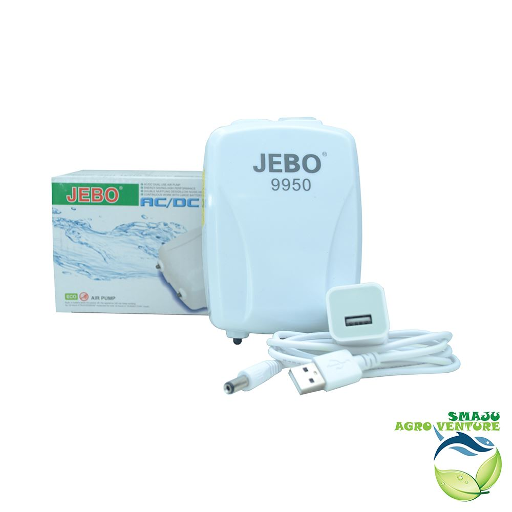 Rechargeable air pump jebo 9950