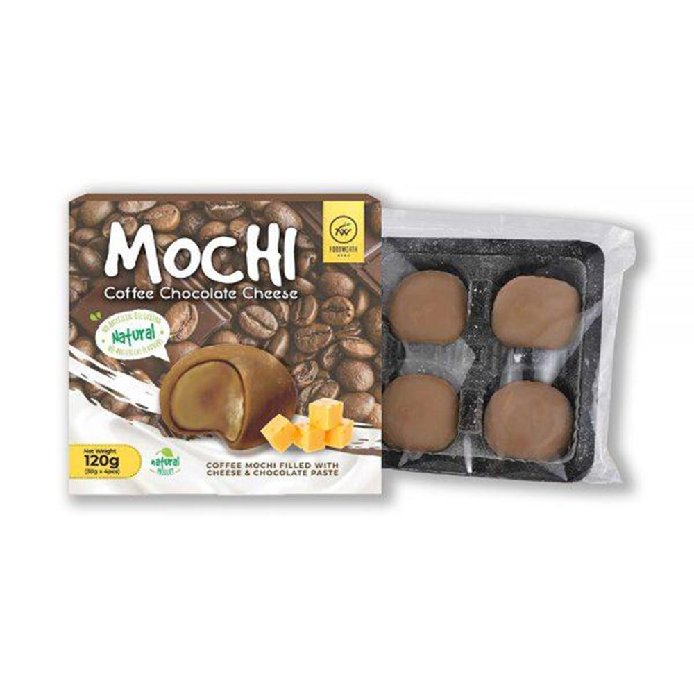 Coffee Chocolate Cheese Mochi