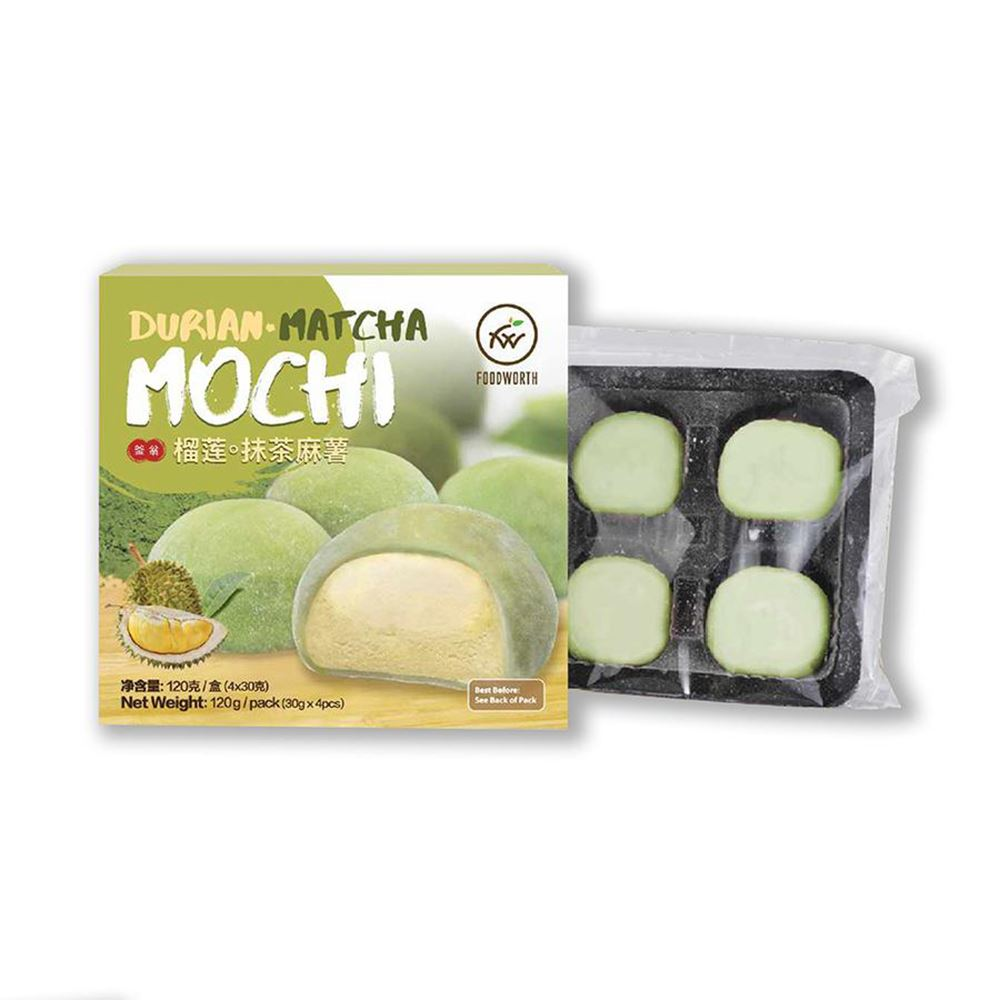Durian Matcha Mochi