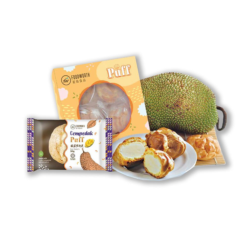 Durian/Jackfruit Puff