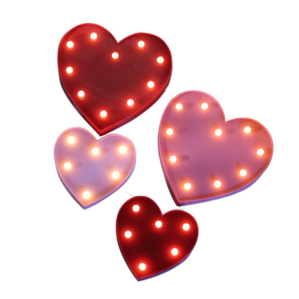 LED Heart Shape Light