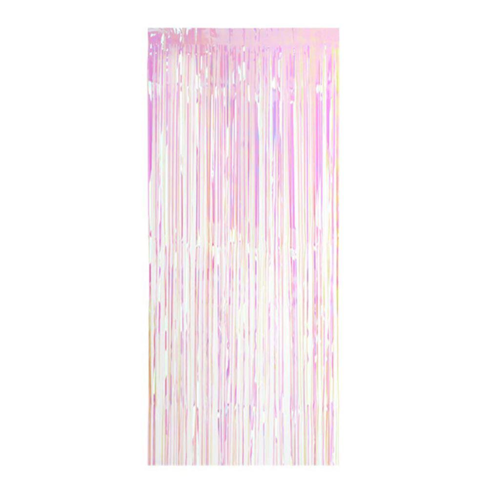 Rainbow Shimmer Curtain