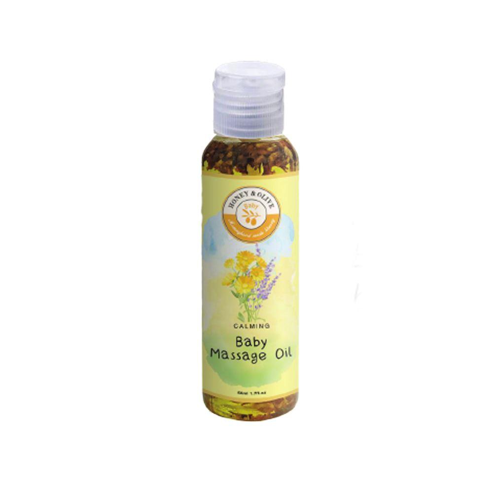 Botanical Infused Baby Massage Oil