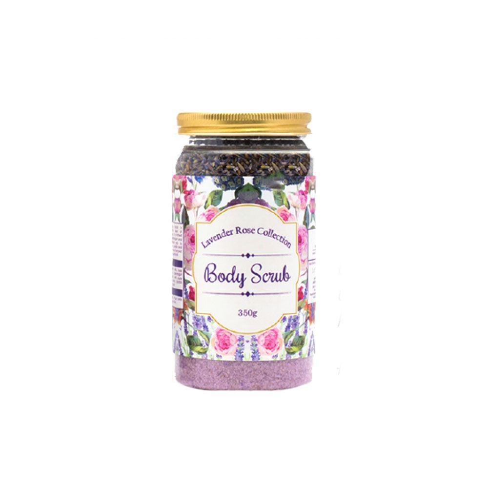 Lavender Rose Himalayan Pink Salt Body Scrub