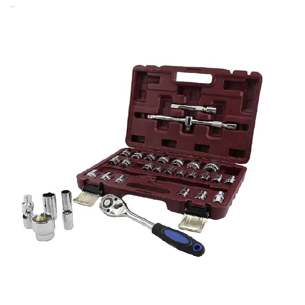 32pcs Srunv Dr Socket Wrench Set/Crv