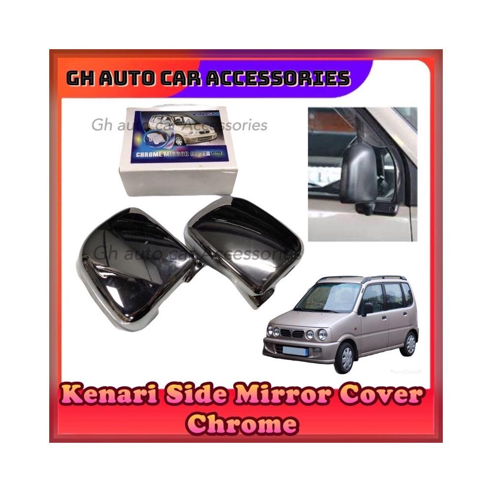 Perodua Kenari Side Mirror Cover (Chrome)