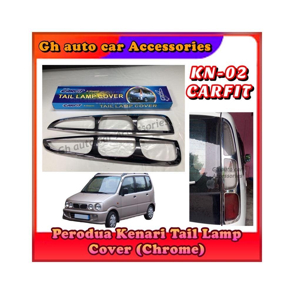 Perodua Kenari Tail Lamp Cover (Chrome)