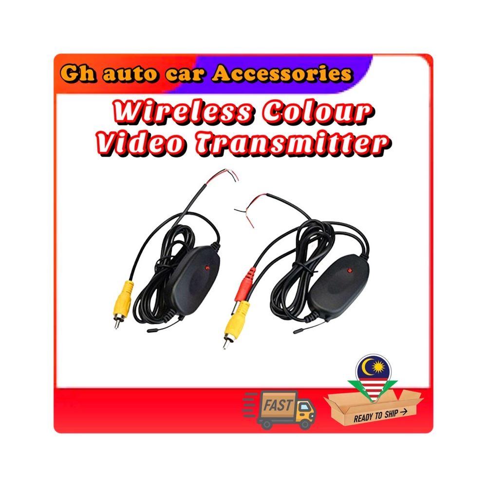 2.4G Wireless Car Video Transmitter & Rear View Camera