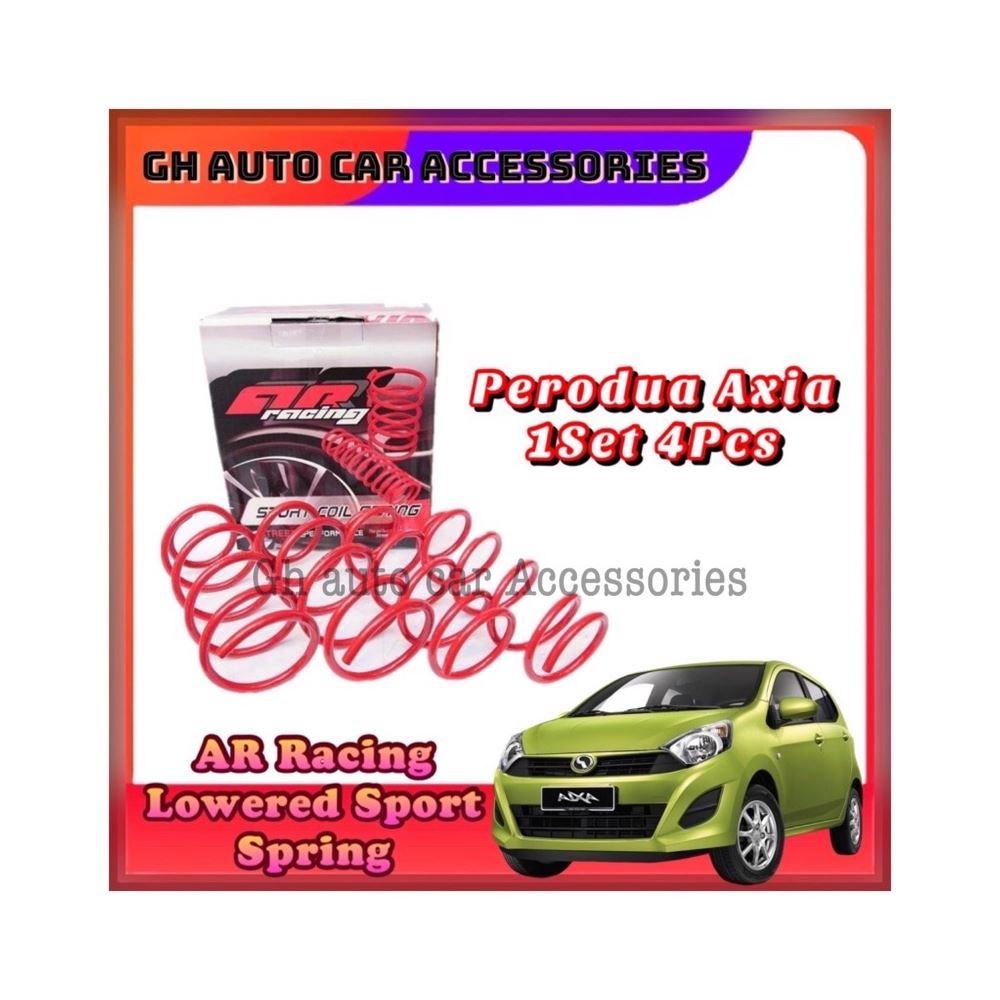 Perodua Axia AR Racing Sport Coil Spring Lowered Sport Spring 1Set 4Pcs