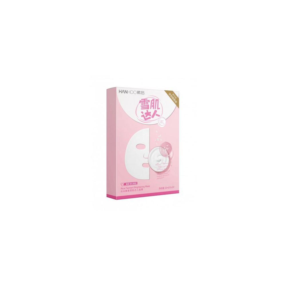 Hanhoo Rice Ferment Brightening Daren Mask 5pcs