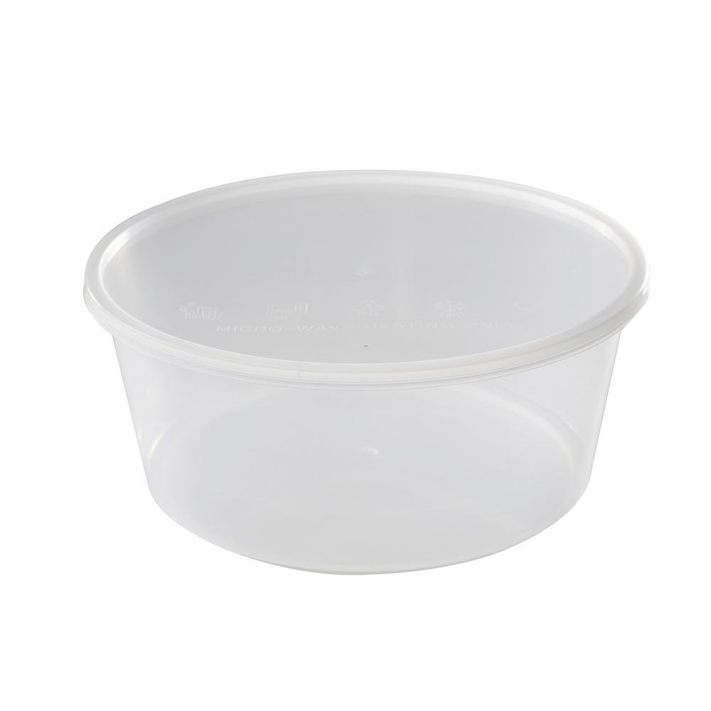 Felton FC 3000 Disposable Microwave Round Food Container