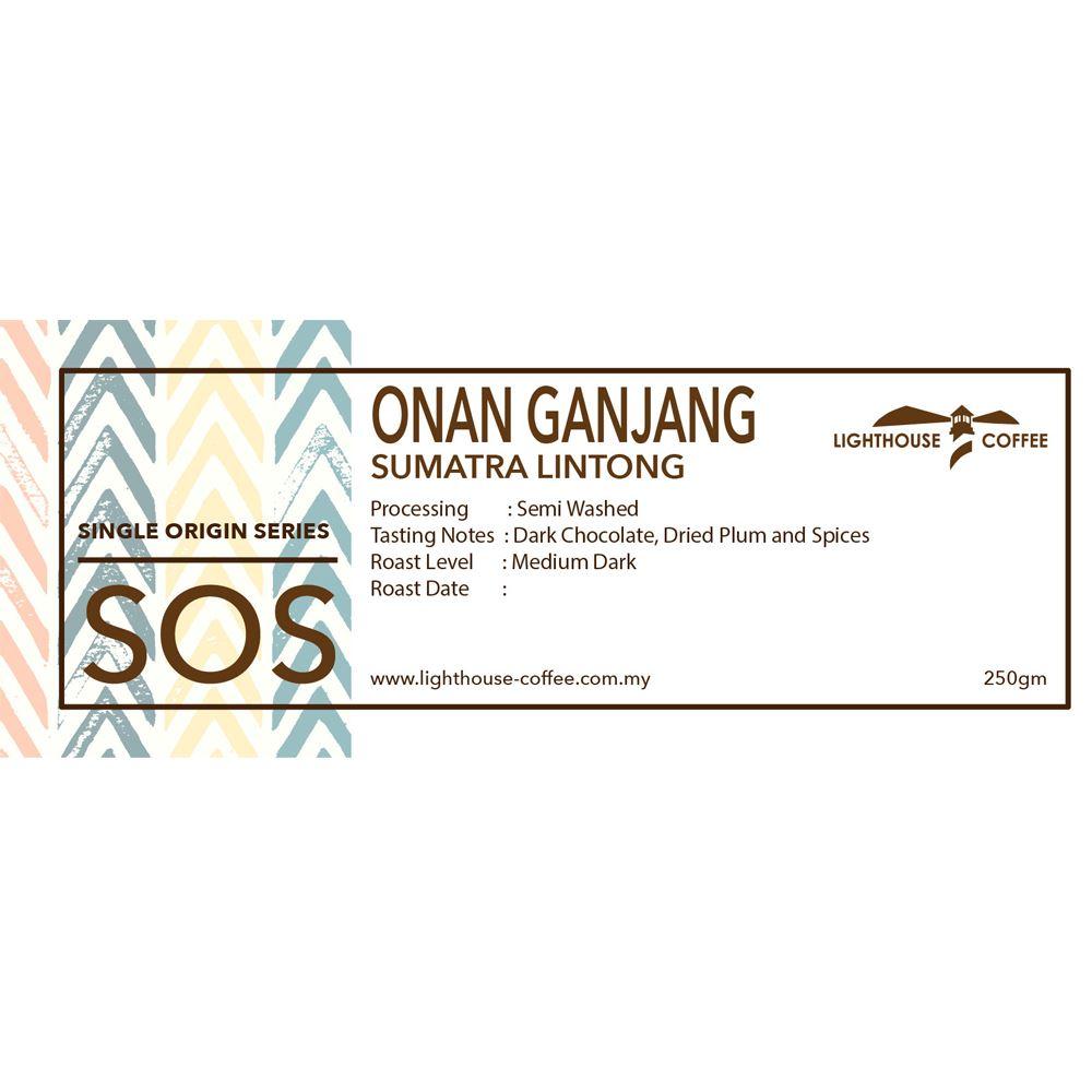 [Signature] Sumatra Onan Ganjang Lintong 250g