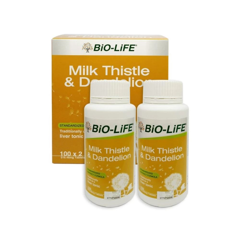 Biolife Milk Thistle & Dandelion
